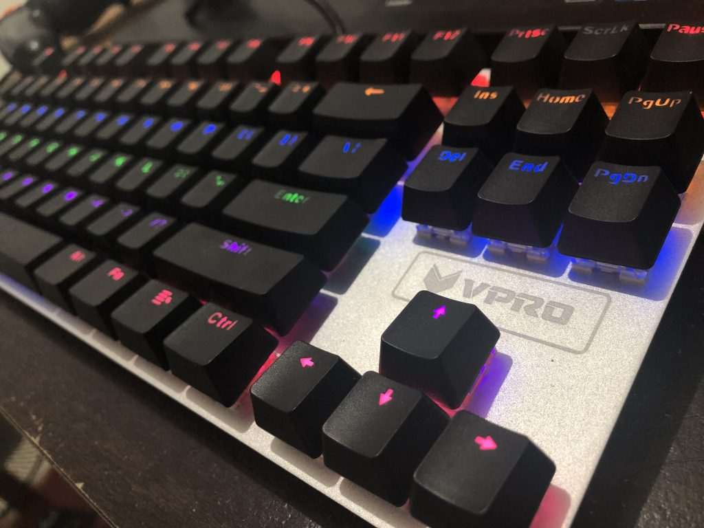 Rapoo V500S Alloy Mechanical Gaming Keyboard Hands-On Review - Page